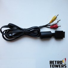 Playstation PS1 PS2 PS3 AV TV cable