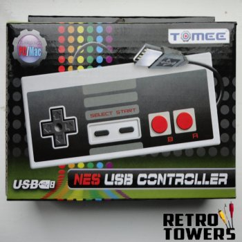 Nintendo Nes USB styled controller gamepad - PC MAC compatible