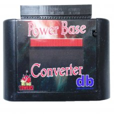 Power Base Converter Slim Master System To Mega Drive Adapter