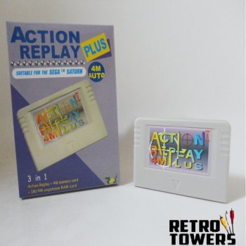 action replay memory card