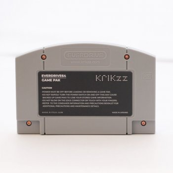 Everdrive 64 X5 (Cartridge Form) With Shell