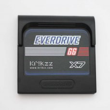 Everdrive GG X7 for Game Gear (Cartridge Form) With Shell