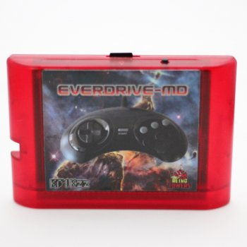Everdrive MD V3 (Cartridge Form) With Shell