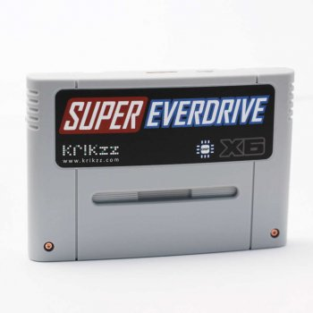 Super EverDrive X6 (Cartridge Form) With Shell