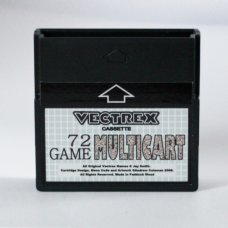 Vectrex 72 Game Multicart - Plays Homebrew And Full Games